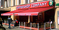 маркизы для кафе coffeshop company